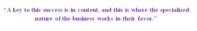 a key to specialty marketing success is in the content