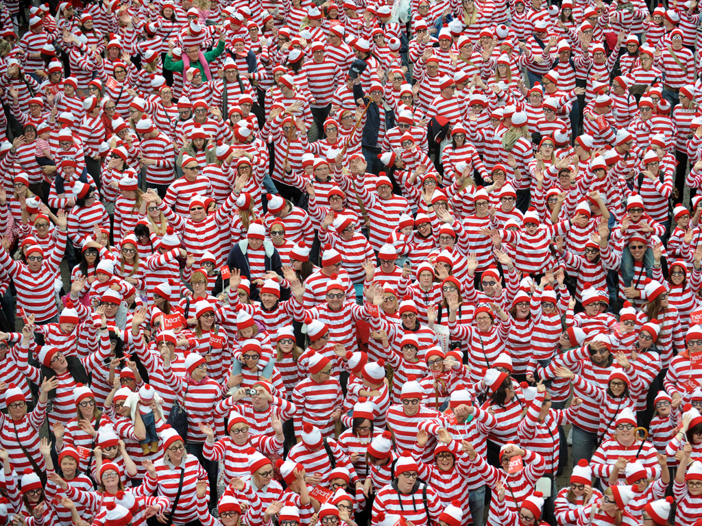 Don't be like Waldo. Stand out from the content marketing crowd in 2015.