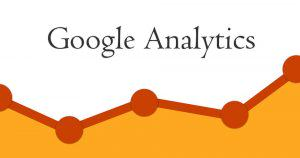 google analytics logo with chart