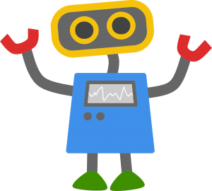 googlebot google colored robot cartoon