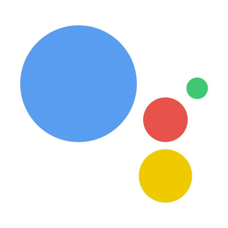 google assistant logo with transparent background