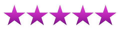 satisfied customer five star concept