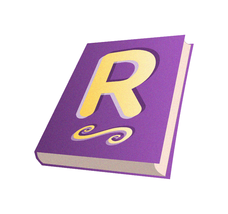 leverage purple book with rightword r in gold