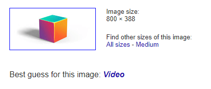 google image search result for b2b video marketing abstract box