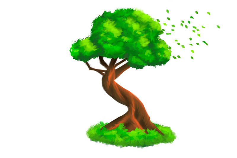 tree for seasonal marketing