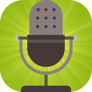 microphone representing brand voice