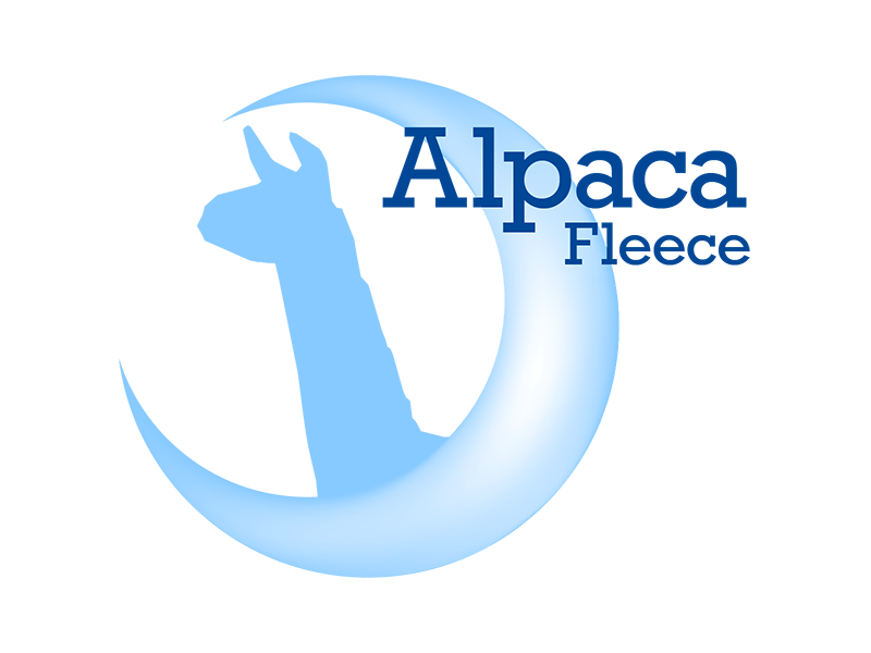 alpaca fleece fictional company logo