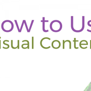 how to use visual content in marketing featured image