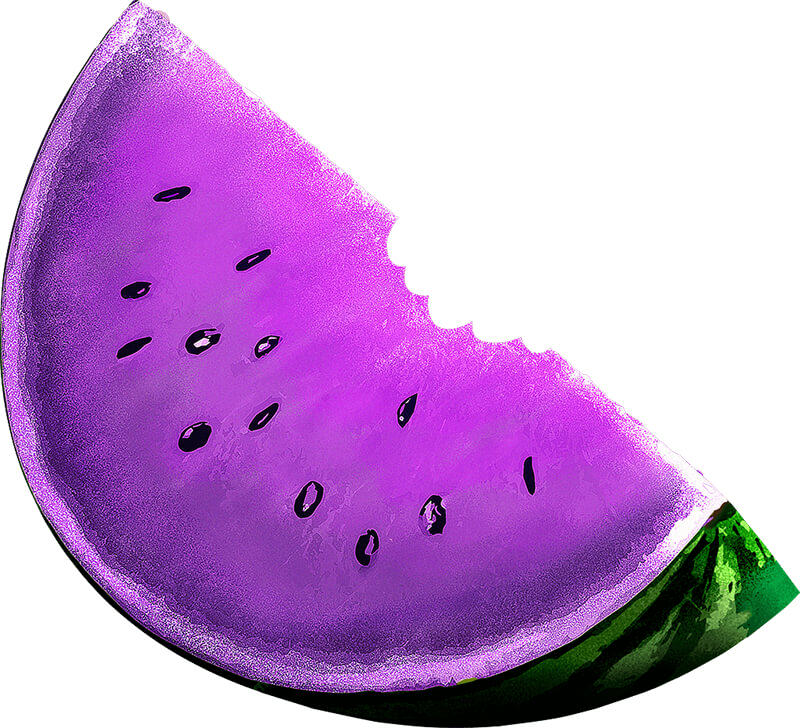 purple fruit watermelon representing standard images