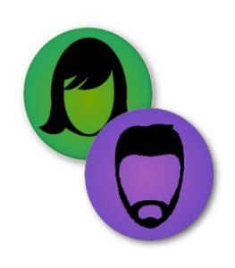 buyer persona icons for online branding strategies