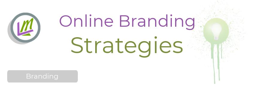 online branding strategies concept
