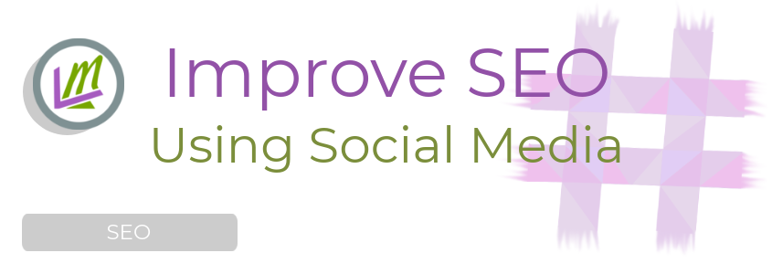 social media for SEO featured image