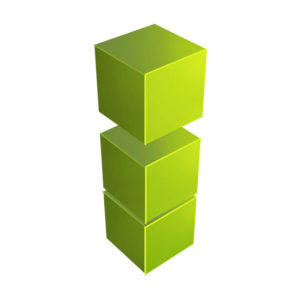 blocks representing the growth of business