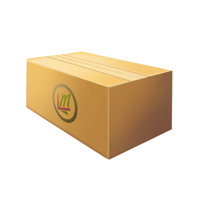 mystery package with leverage marketing logo