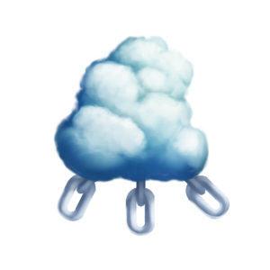 externally linking cloud